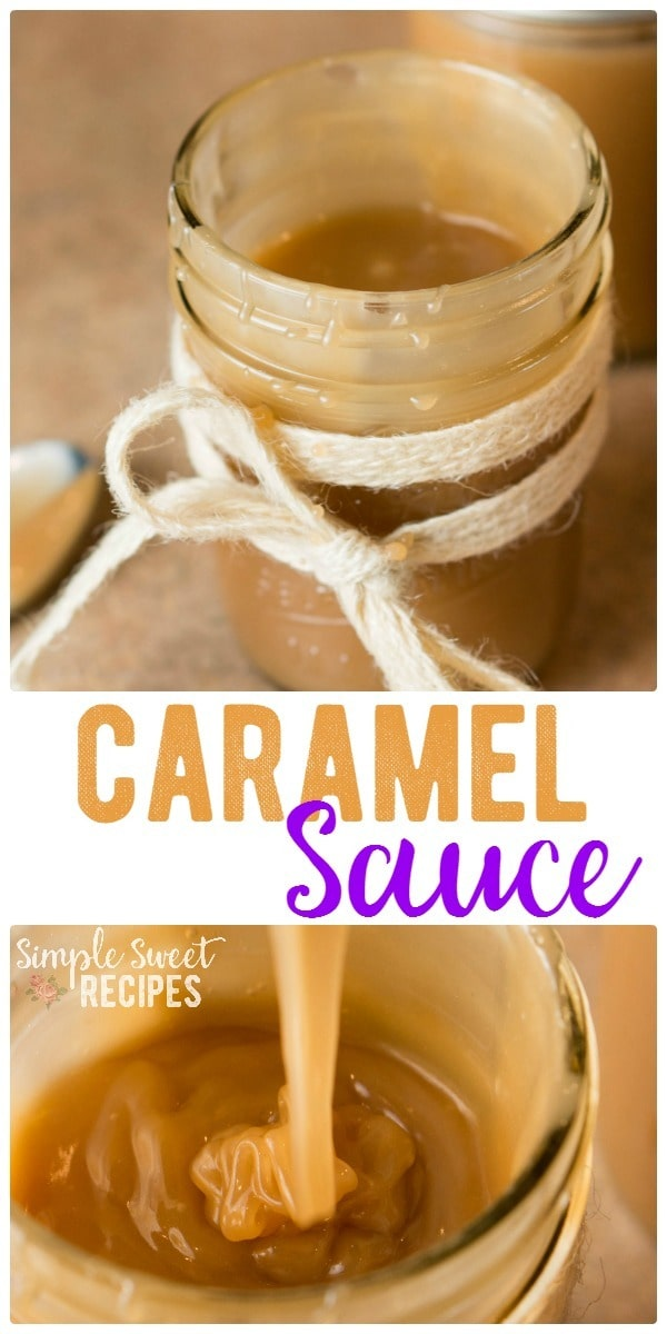 Decadent and sweet, this homemade caramel sauce is easy to make and finger-lickin' good. Use it to top your favorite recipes or serve it as a simple dip.