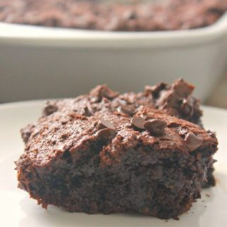 3-Ingredient Chocolate Pudding Brownies