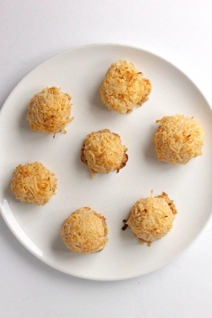 3-Ingredient Toasted Coconut Cookies