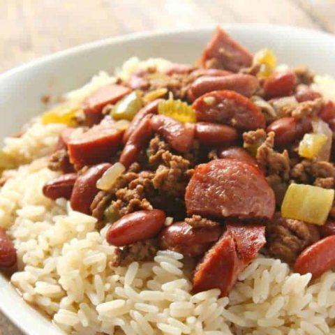 Louisiana Red Beans & Rice