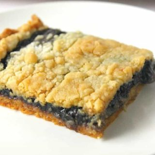 Easy 3-Ingredient Blueberry Pie Bars