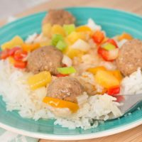 Easy Crockpot Hawaiian Meatballs Recipe