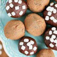 Homemade Hot Chocolate Truffles