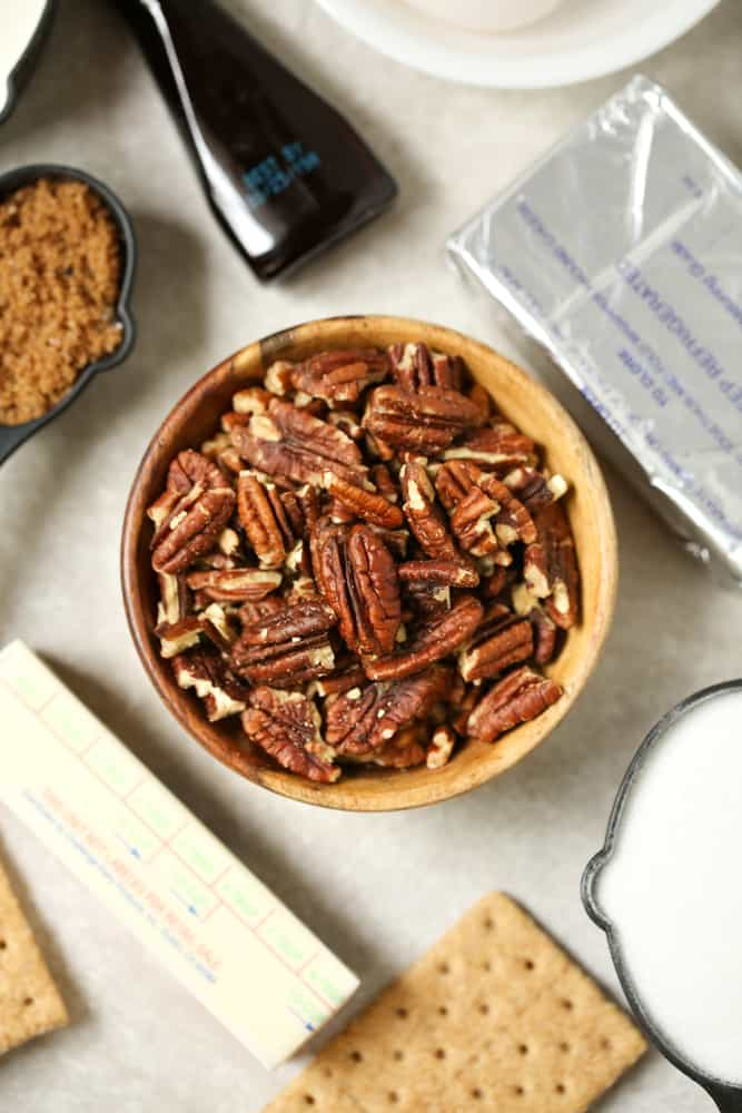 pecan cheesecake pie ingredients