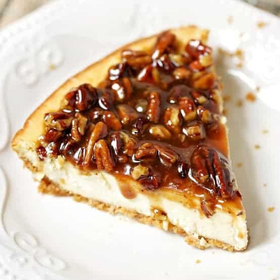 Easy Pecan Cheesecake Pie