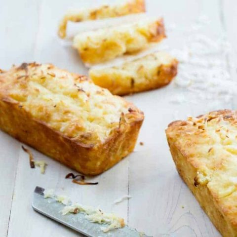 Sweet Pineapple Coconut Bread