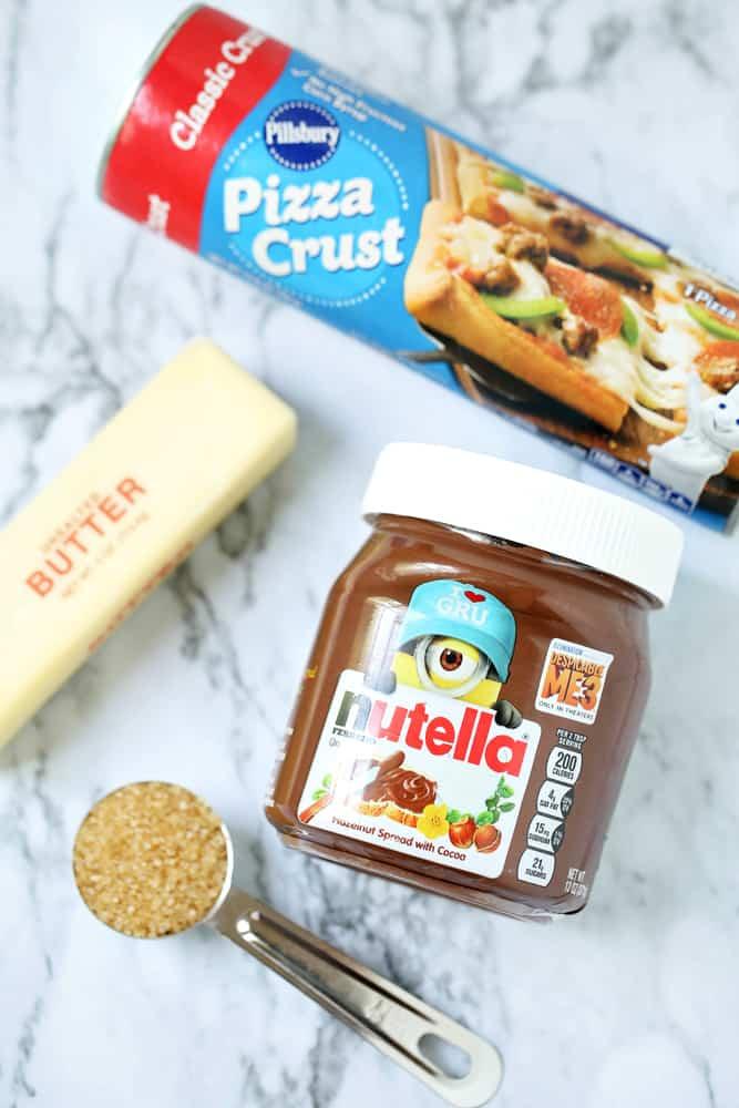 nutella rolls ingredients