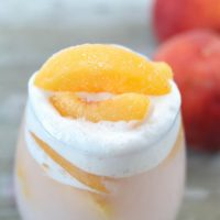 Peaches and Cream Punch
