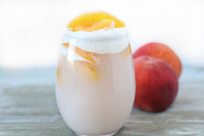 peaches cream punch