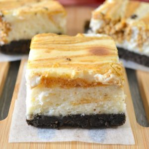 Oreo Pumpkin Cheesecake Bars