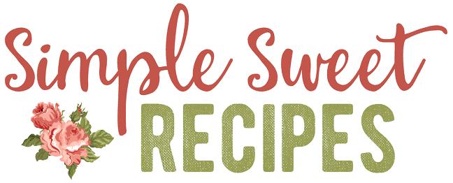 Simple Sweet Recipes logo