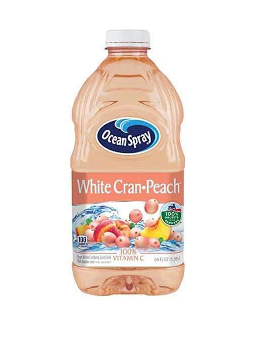 Ocean Spray White Cran-Peach Juice
