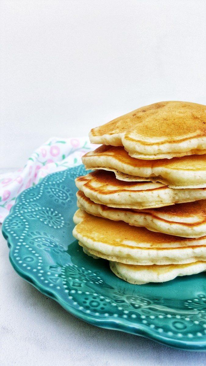heaping pile of everything pancakes