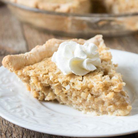 6-ingredient Easy Oatmeal Pie