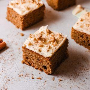 Easiest Carrot Sheet Cake